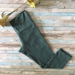 Lululemon Green Align Crop Leggings, Size 8